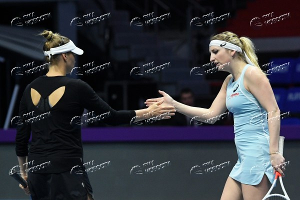 Теннис. St.Petersburg Ladies Trophy 2018. Девятый день