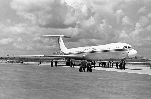 Image result for 55 years since the first flight of Ilyushin Il-62 in the USSR