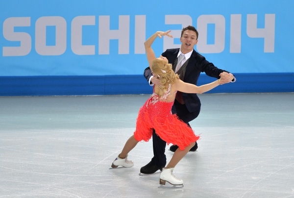 The Dating Dancers Olympic Are Ice